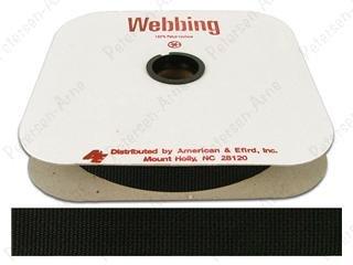 Webbing Poly 1 Black