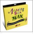 Amazing Box MAX Embroidery Design Converter Box, Software, USB Cable, Manual, and Memory Card