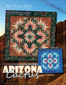 Arizona Cactus Table Topper Pattern finishes 42 x 42 *