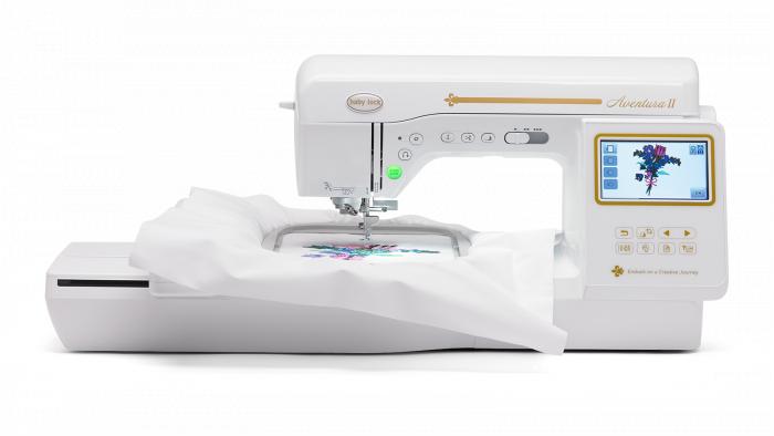 Baby Lock Aventura Sewing and Embroidery Machine BLMAV II