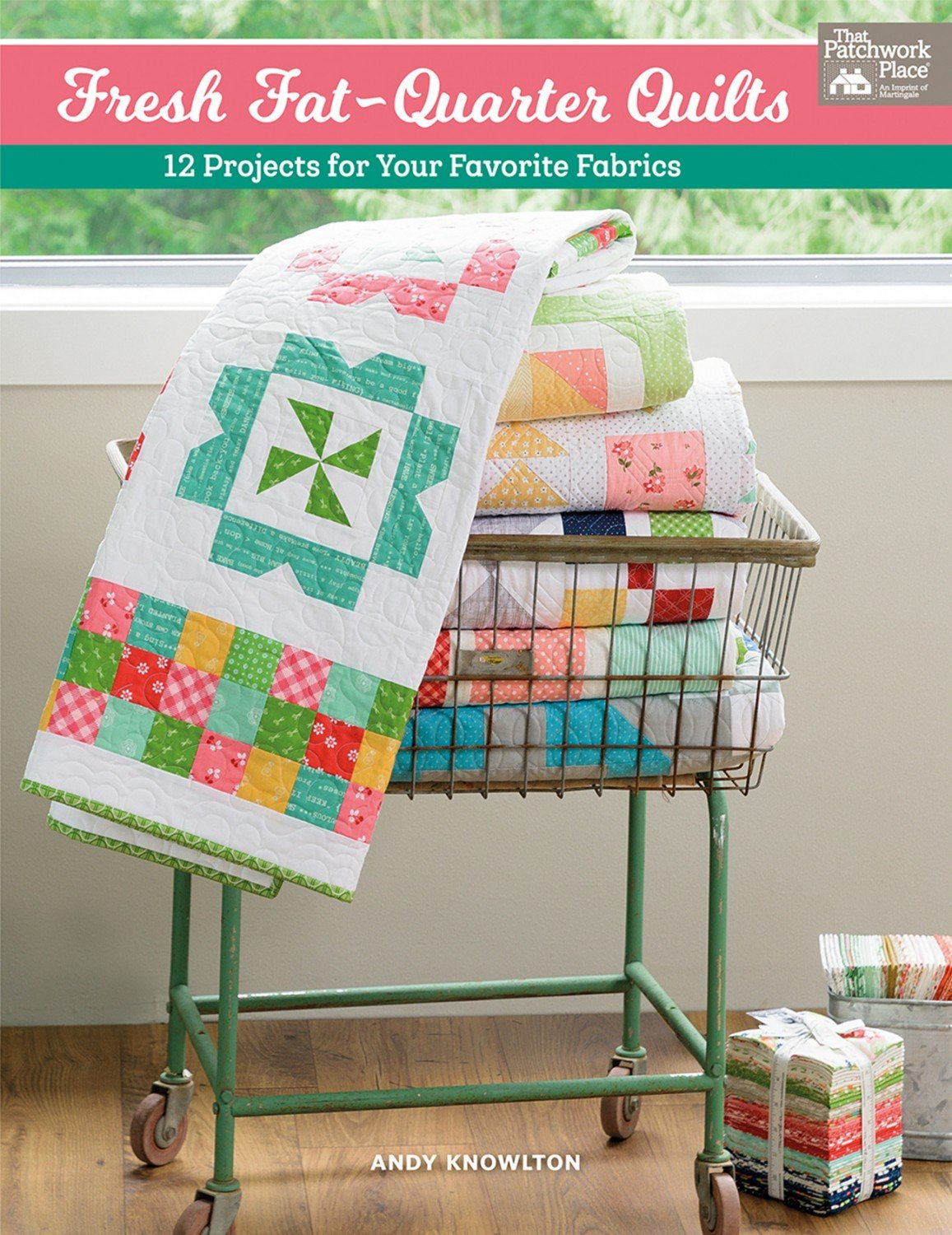 Fresh Fat-Quarter Quilts Book B1497