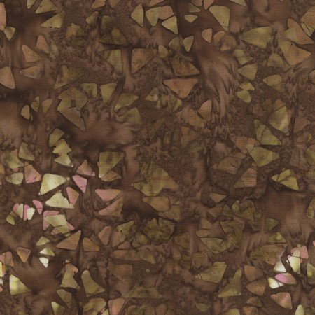Tonga Antique Garage Batik - Flying Geese Brown B4394