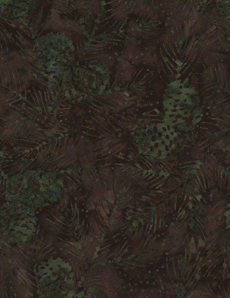 Tonga Batik - Pine Cones and Needles B7779 Cabin