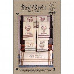 The Hen Delivers Tea Towels 378 *