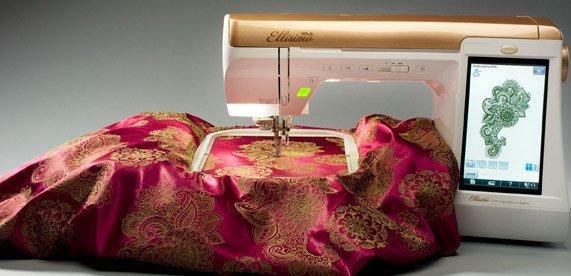 Used BL Ellisimo Gold Embroidery Machine BLSOG Awesome Ellisimo Sewing Machine