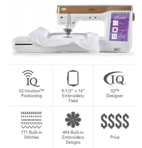 Baby Lock Altair Sewing & Embroidery Machine BLTA