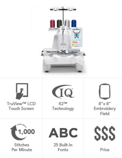Baby Lock Alliance Embroidery Only Machine BNAL