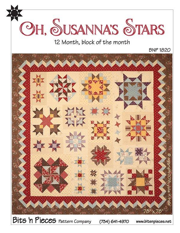 Oh Susanna's Stars Pattern BNP 1820