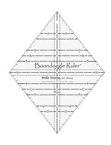 Boondoggle Ruler BR400