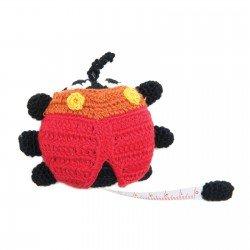 Crochet Ladybug Tape Measure