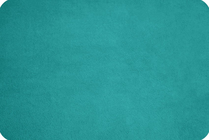 Extra Wide Solid Cuddle 3 Teal 88/90