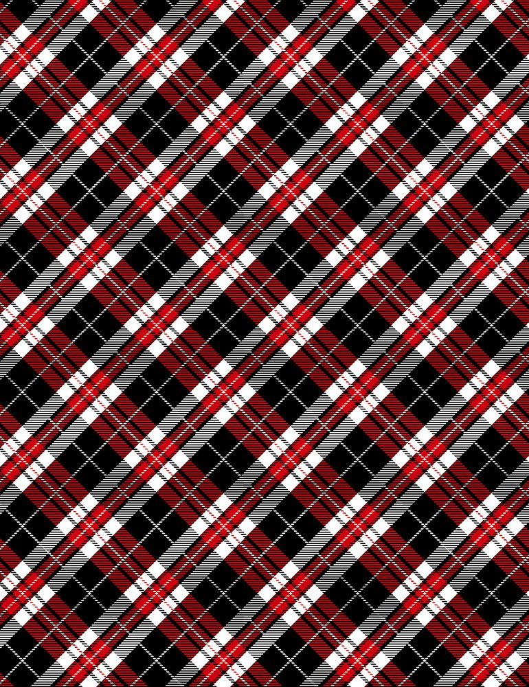 Red Heart Plaid C7747 Red
