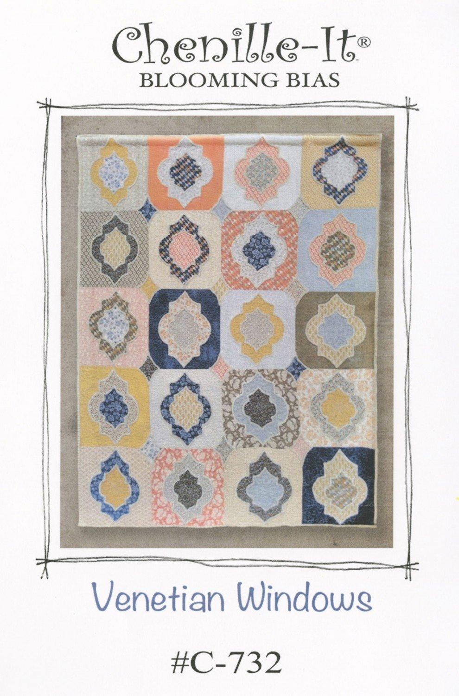 Venetian Windows Quilt Pattern C-732