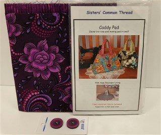 Caddy Pad Kit B Purple Floral on Purple