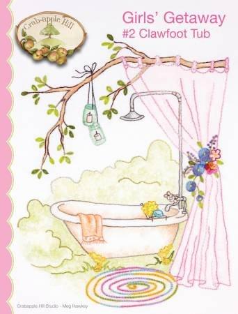 Girls' Getaway 2 Clawfoot Tub CAH2554