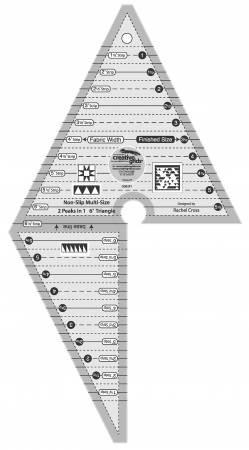 Creative Grid Ruler Two Peaks In One