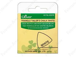 Triangle Tailor's Chalk - White