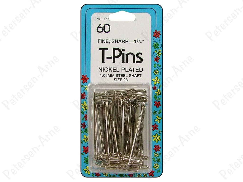 T-Pins 1-3/4 60 Count  Size 28