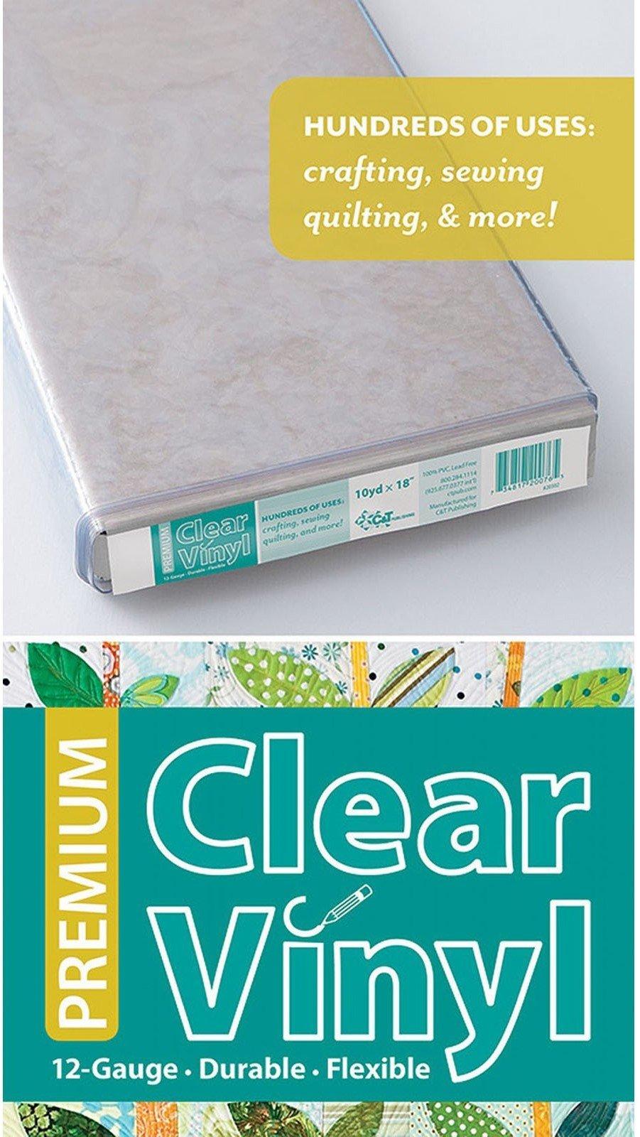 Premium Clear Quilters Vinyl 18  12-Gauge 20302