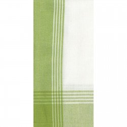 Tea Towel DUH734 - Lime Green/White