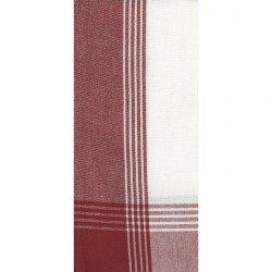 Tea Towel DUH734 - Red/White