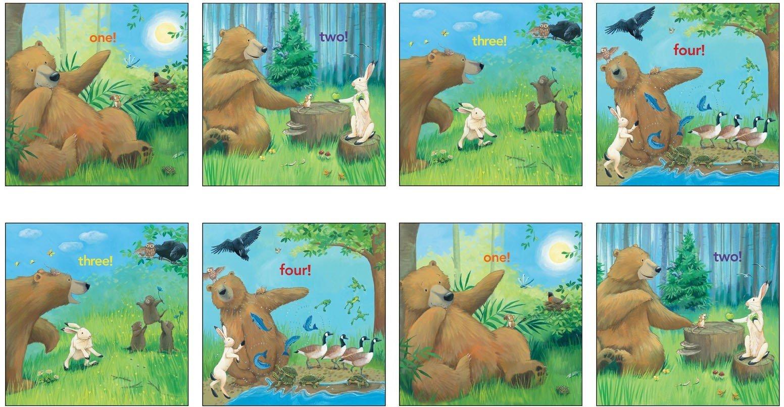 Adventures of Bear Panel #282 - 12001 Multi