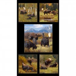 American Wildlife Panel #29 ELS8800 Black