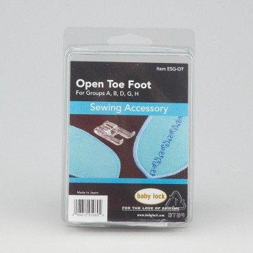 Baby Lock Open Toe Emb Foot