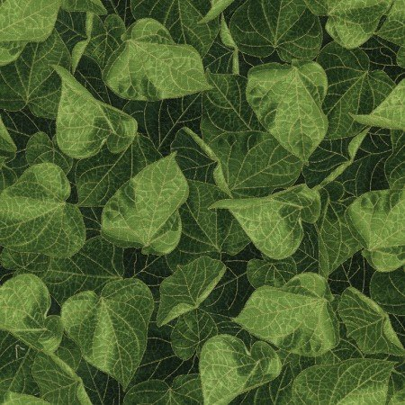 Glory Packed Leaves Metallic CM4973 Green
