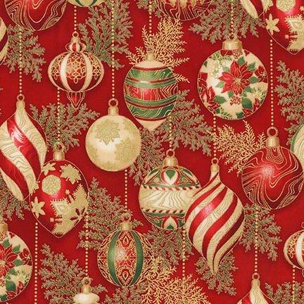 Holiday Flourish 11 Crimson 17338 91