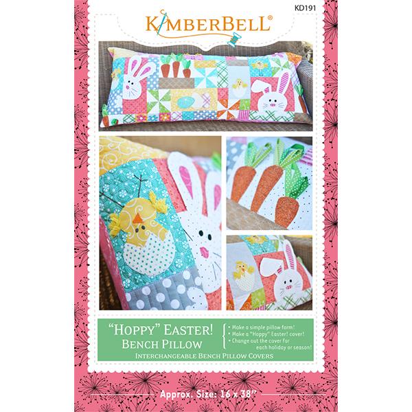 'Hoppy' Easter Bench Pillow Book KD191