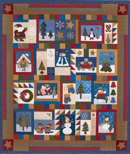 Holiday Sampler Set of 12 Patterns HS CS