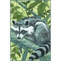 Hoffman Open and Sew Racoon *