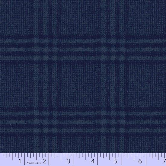 Primo Plaid Flannel - Blues J306 0110