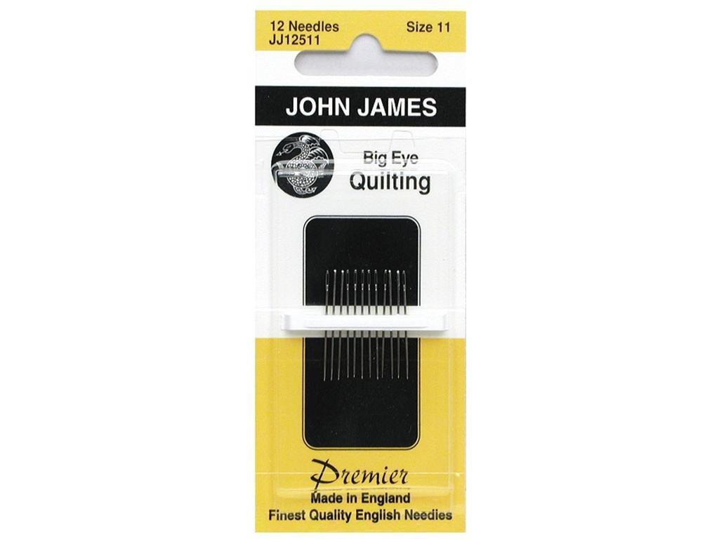 John James Big Eye Quilting Needles Sz 11