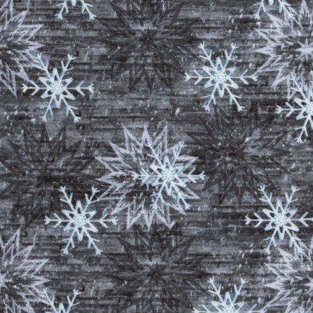 Snowflake Barn - Grey C3712