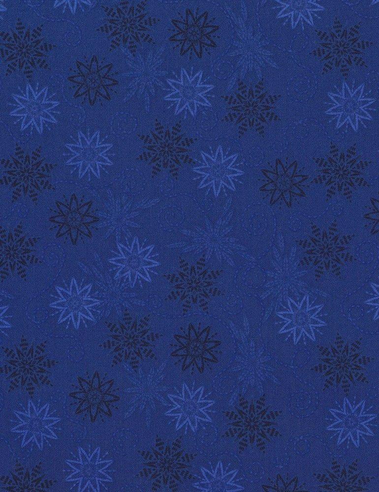 Bohemian Blues - Small Snowflakes Sea C5772