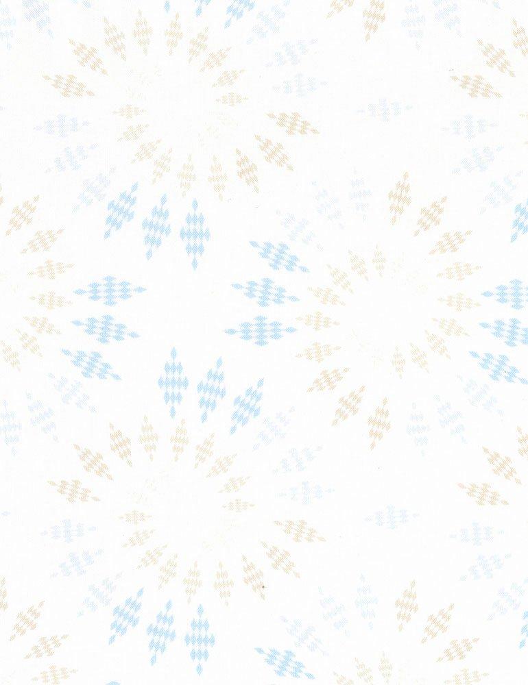 Bohemian Blues - Kaleidoscope Sand C5773