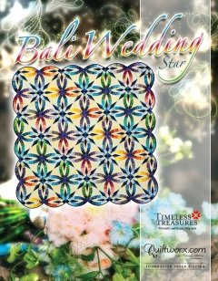 Bali Wedding Star Pattern 80 x 80