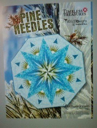 Pine Needles Pattern - 62 Octagon *