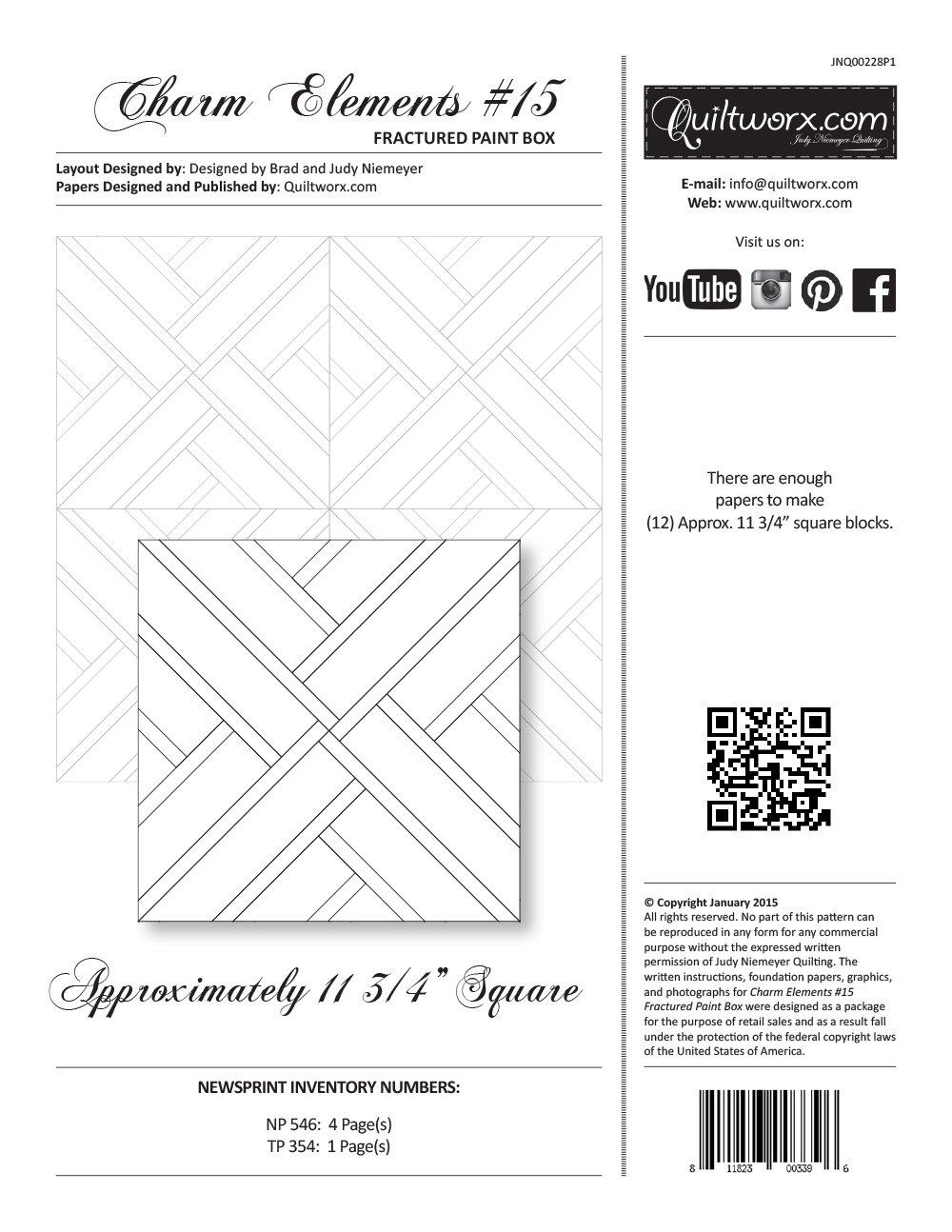 Charm Elements #15 - Fractured Paint Box