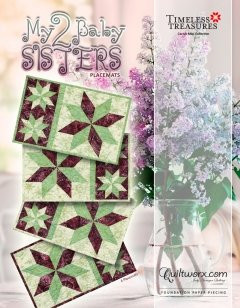 My 2 Baby Sisters Placemats Kit (4) 12 x 19 *