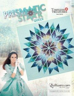 Prismatic Star Queen Pattern 91 x 91
