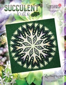 Succulent Jade Pattern JNQ252P4 finishes 91 x 91