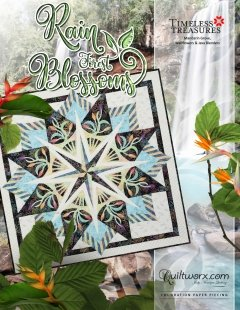 Rain Forest Blossoms Kit 68 x 68