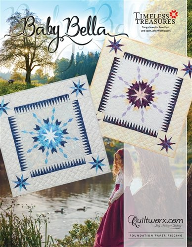 Baby Bella Pattern JNQ140P2 finishes 36 x 36