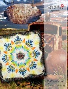 Prairie Star Pattern 85 x 85 - New