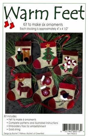 Warm Feet Ornaments Kit K0513