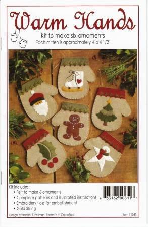 Warm Hands Ornaments Kit K0811