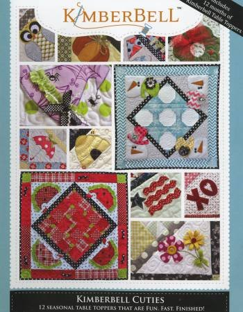 Kimberbell Cuties - 12 Seasonal Table Runners - Softcover # KD701